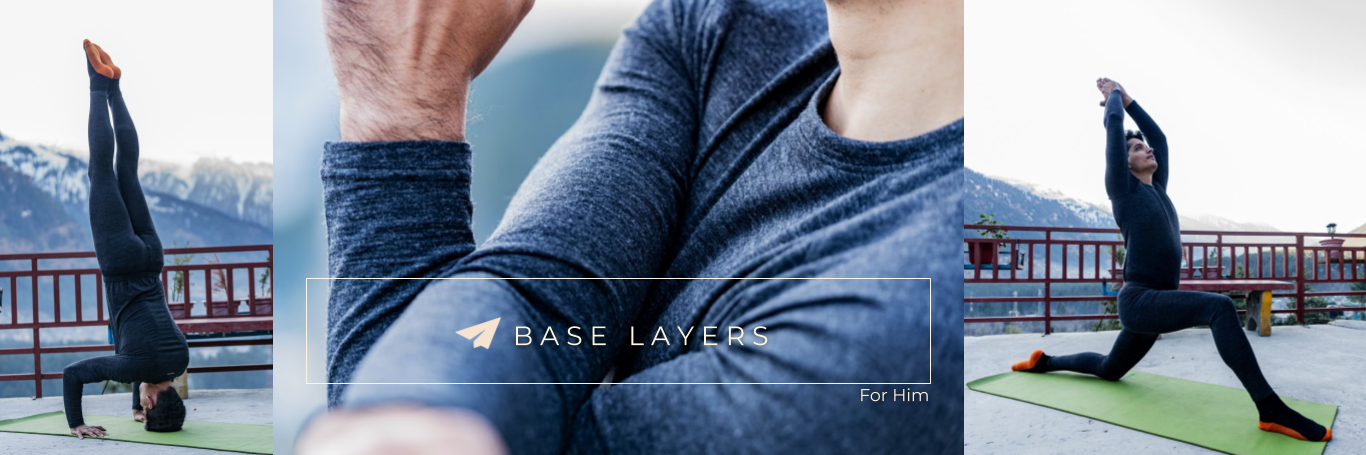 Kosha Base Layers For Men_Thermals