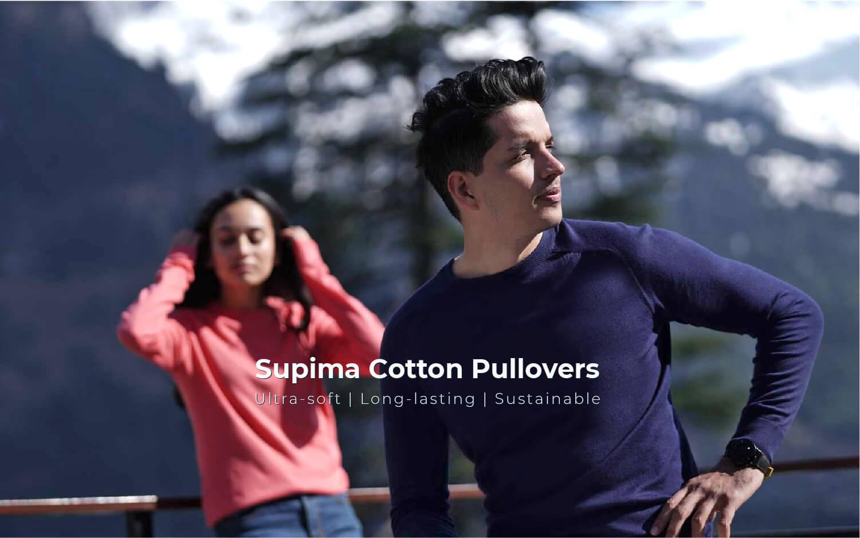 Kosha Supima Cotton Pullover Men