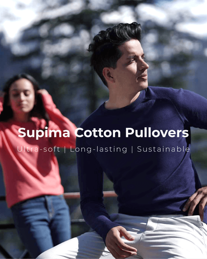Kosha Supima Cotton Pullover