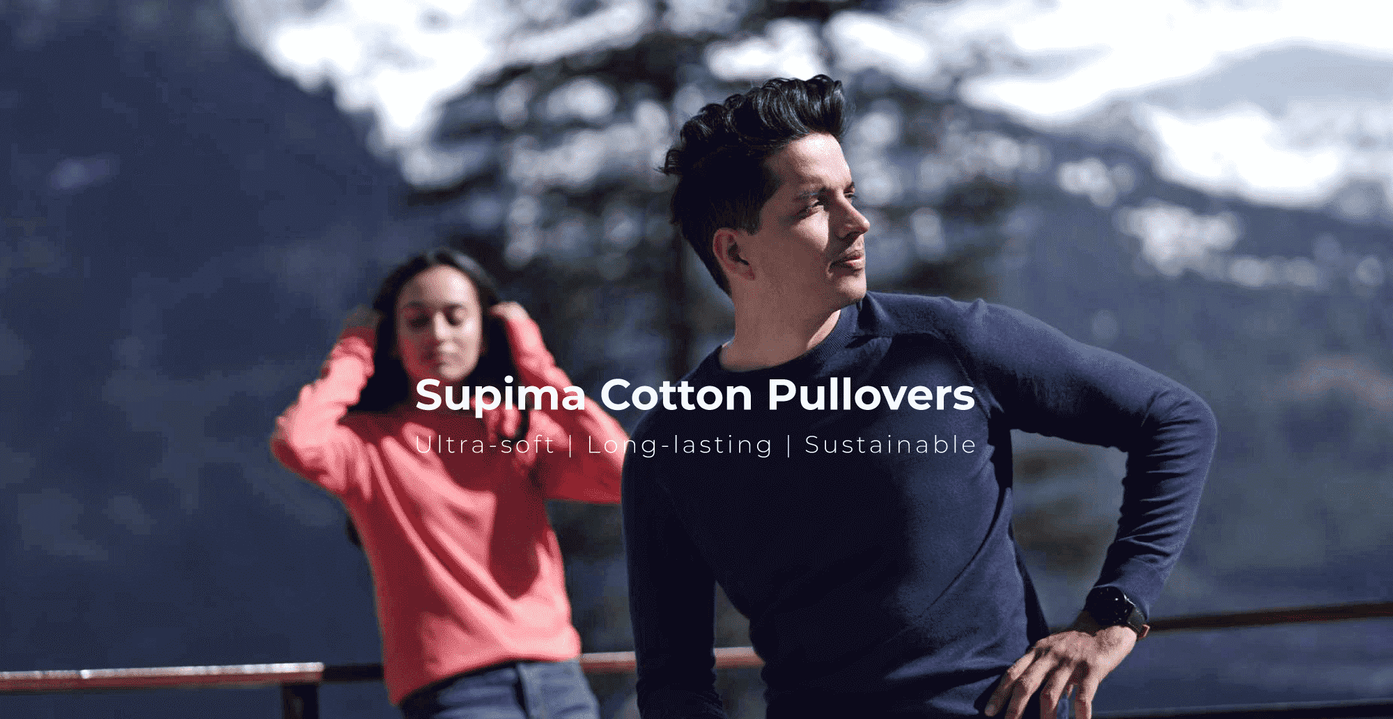 Supima Pullovers