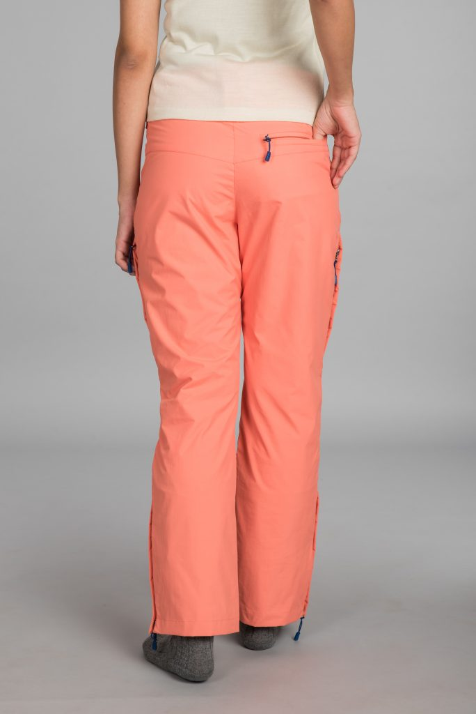 Kosha Hardshell Pant for Women with Elastic waist line for comfort grip