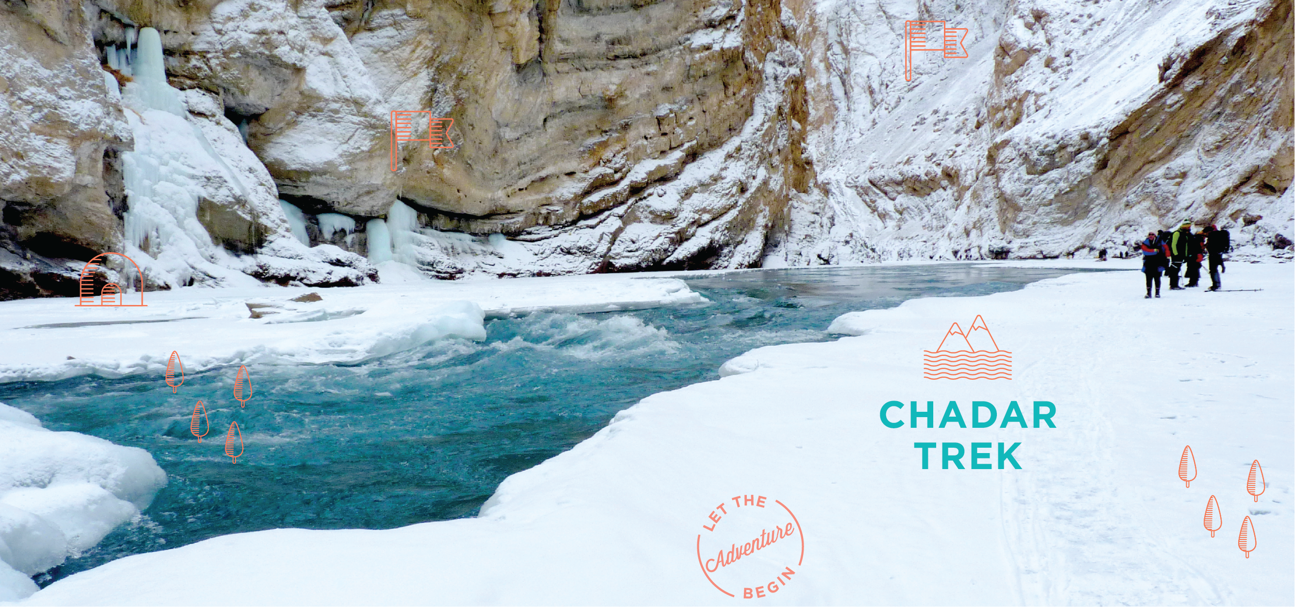 Chadar Trek, The Frozen Zanskar River