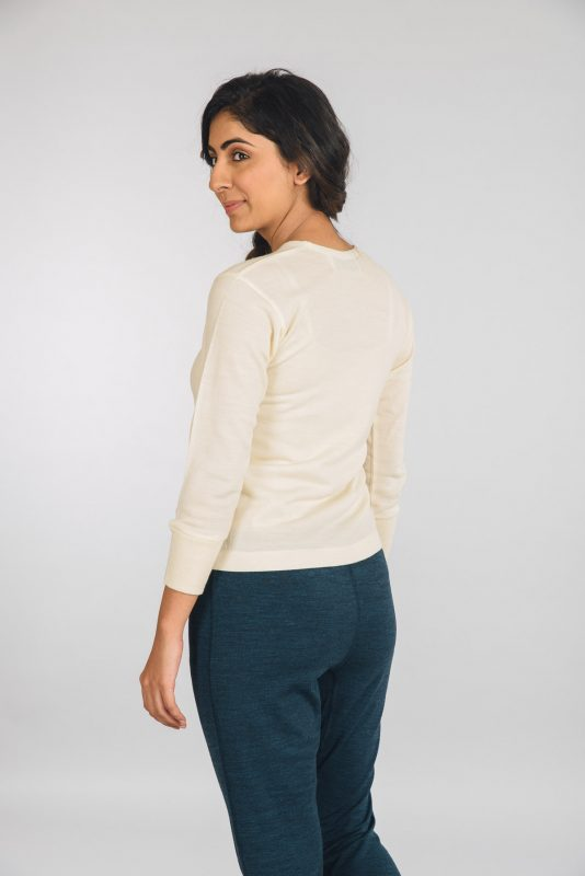 Kosha's Merino Wool Full Sleeves Women Thermal