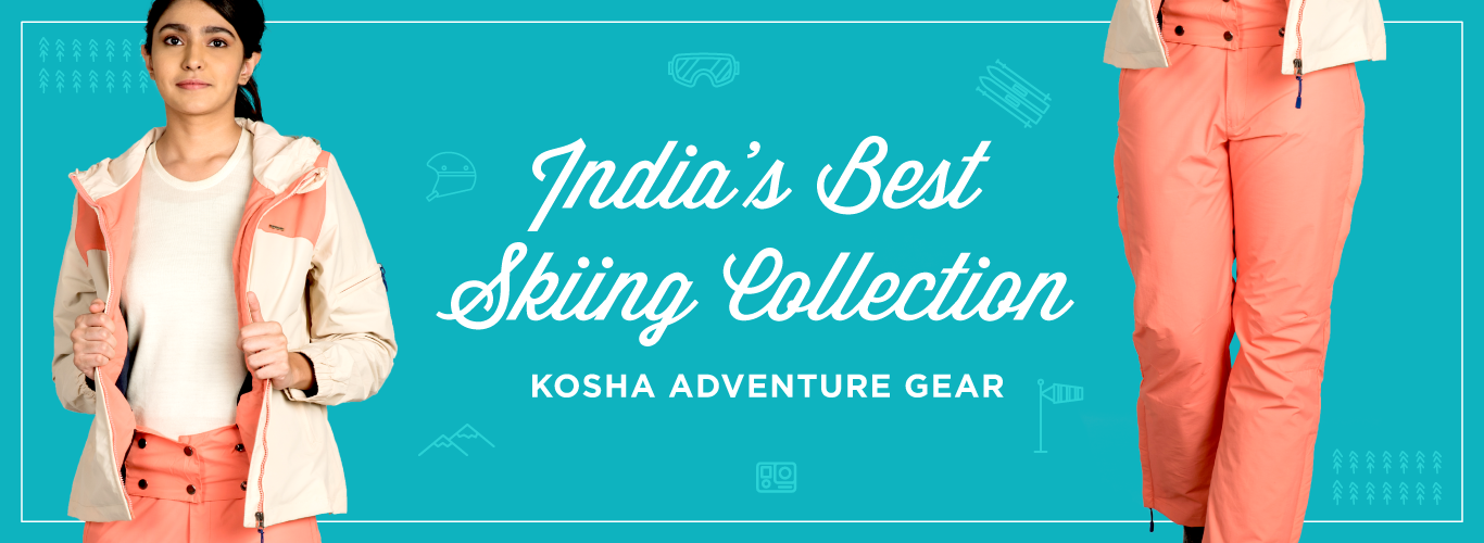India's Best Skiing Collection By Kosha