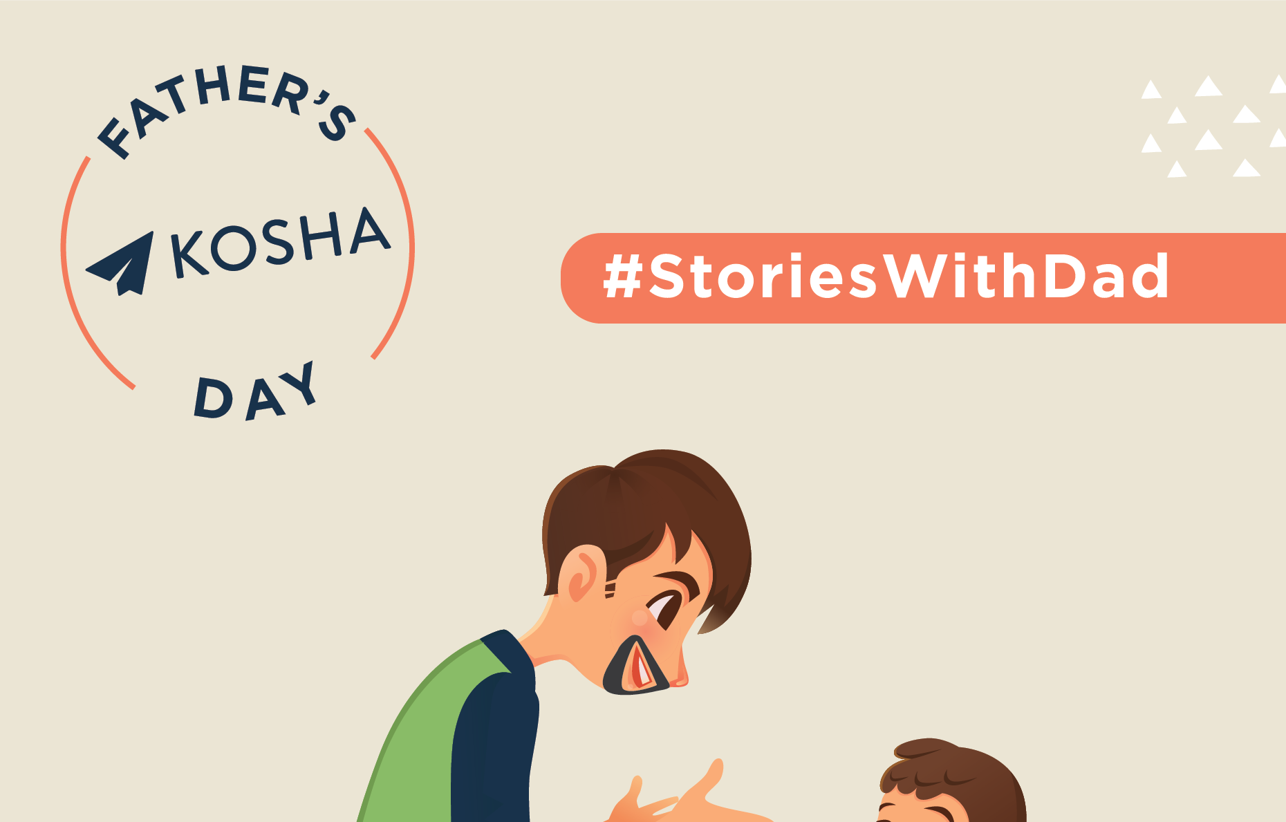 Make new #StoriesWithDad Contest Alert!