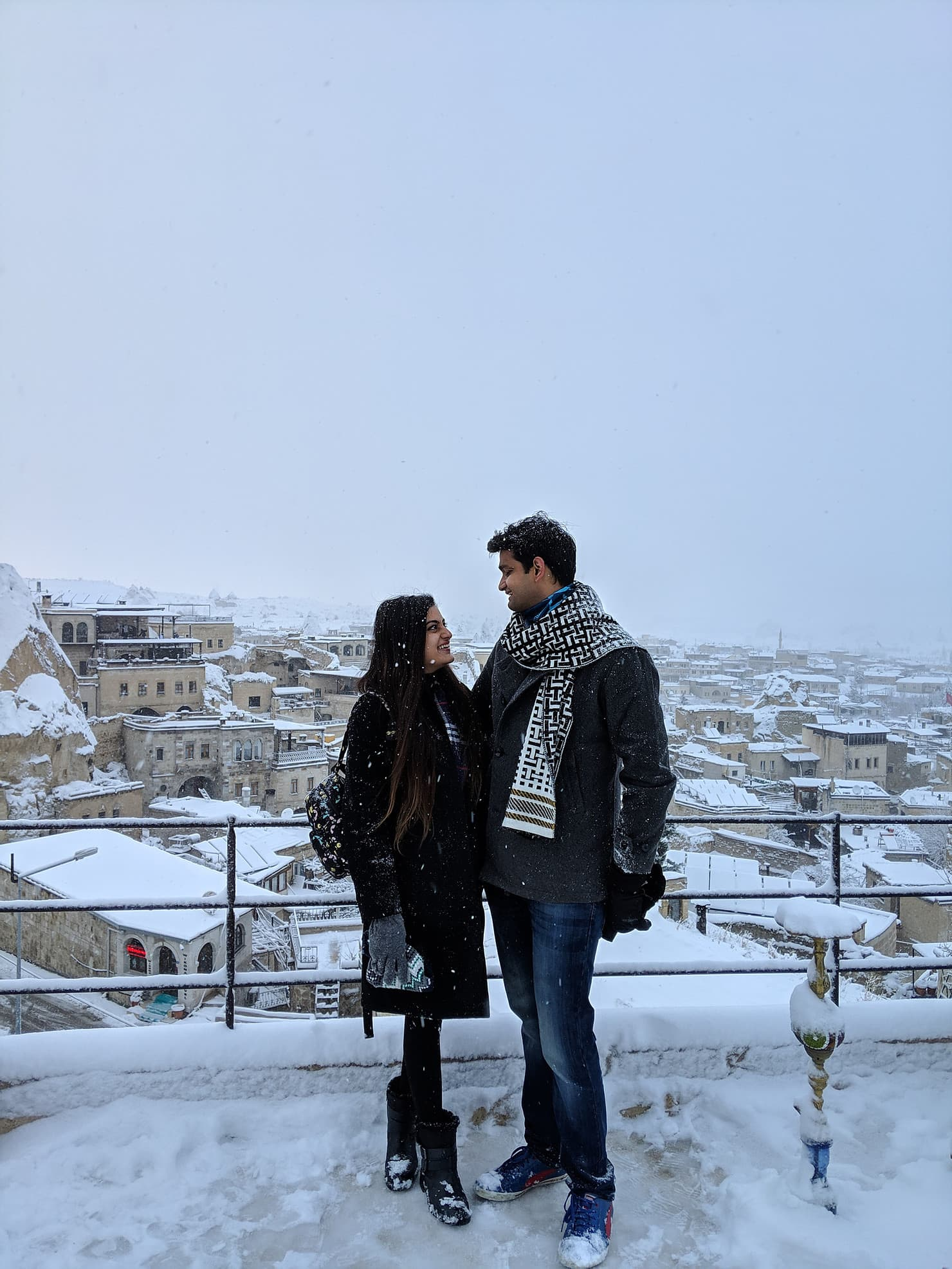 Neha & Arindam's journey among the ruins and clouds of Cappadocia