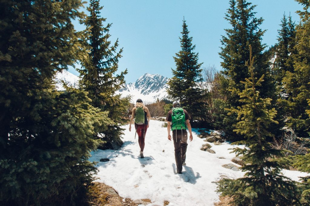 Tips to stay Warm on a Winter Backpacking Trip